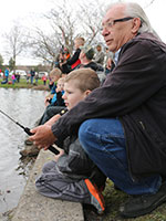 2017 Family Fishing at McNary Ponds