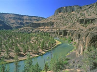 Crooked River below Prinville Reservoir