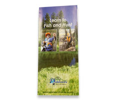 Learn to Fish and Hunt brochure