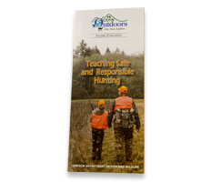 Teaching Safe and Responsible Hunting brochure