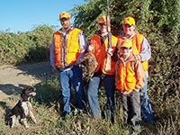 Youth pheasant hunt