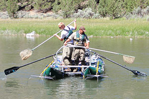 Sampling on Crooked River