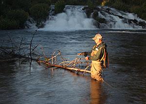 Fall River fishing