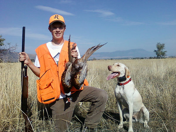 youth pheasant hunts