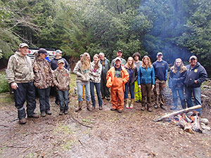 Volunteer group photo