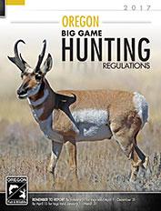 Oregon Big Game Hunting Regulations